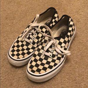 Gold Coast Classic Checkered Vans